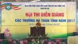 HỘI THI DIỄN GIẢNG CÁC TRƯỜNG HẠ NĂM 2017(PHẦN 1)- GHPG TỈNH BR-VT